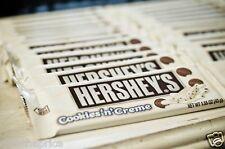 Genuine Hershey's Cookies & Creme Chocolate Bars 36 bars  Box Of Cookie n Cream