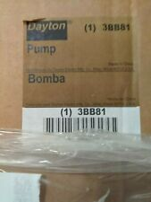 Dayton Sump Pump #3BB81, 1/3HP, cast iron