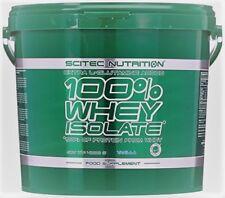 (18,38€/Kg)Scitec Nutrition 100% Whey Protein Isolate Schoko oder Vanille 4kg