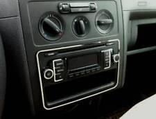 D VW Caddy Chrom Rahmen für das Radio - Edelstahl poliert