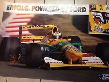 F1 Poster Michael Schumacher