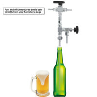 304 Stainless Steel Counter Pressure Beer Bottle Filler CO2 Beer Homebrew Kit