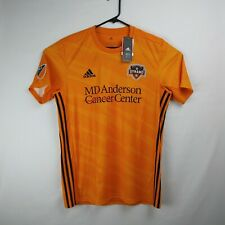 ADIDAS Climalite Houston Dynamo Soccer Jersey MLS Men's Size Large Retail $85
