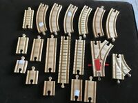 Lot of wood Train Tracks TRAINS  Play Thomas Tank Engine
