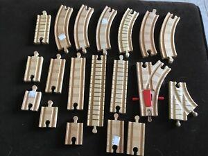 Lot of wood Train Tracks TRAINS  Play Thomas Tank Engine