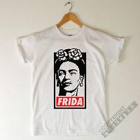 Mens Frida Kahlo T SHIRT female artist painter feminist icon gift - khalo print