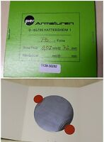 PIER Armaturen Pb-Folie D= 72 mm x 0,02 mm Dicke aus Blei Pb 1 Stk