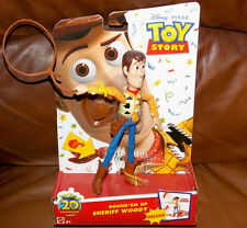 Disney Toy Story Deluxe Round Em Up Sheriff Woody Action Figure 20th Anniversary
