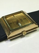 Vintage Square Mido Ocean Star men's Watch Commander  Working and keeping time