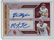2018 BAKER MAYFIELD MARK ANDREWS CONTENDERS COLLEGIATE CONNECTIONS DUAL AUTO 1/1