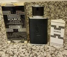 *EXTREMELY RARE* Kouros Édition Cuir / Leather Edition by YSL 100ml/3.3oz Spray