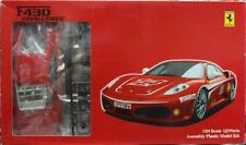 Fujimi 1/24 Ferrari F430 Challenge Race Version w Race Cage, Wheels, Tires, etc