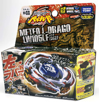 ORIGINAL TAKARA TOMY BEYBLADE METAL FUSION BB88 Meteo L Drago LW105LF+LAUNCHER L