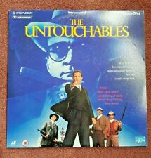 LaserDisc ~ The Untouchables ~ Kevin Costner/Sean Connery ~ Gift~ VG Con