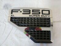 ✅ 08 09 10 Ford f350 Front Left DRIVER Fender EMBLEM Badge Name Plate Grille OEM