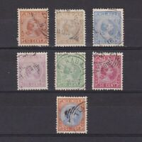NETHERLANDS INDIES 1892, Sc# 23-30, CV $48, part set, Used