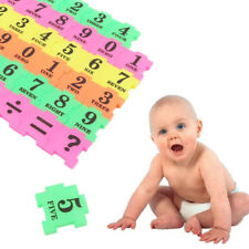36Pcs Baby Kid Number Symbol Multicolor Puzzle Maths Educational Toy Gift Latest