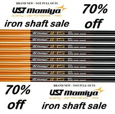 "8 New UST Mamiya STIFF FLEX Graphite Iron Shafts .370 41"""