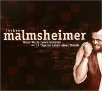 JOCHEN MALMSHEIMER - WENN WORTE REDEN KÖNNTEN  CD NEU
