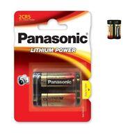 Piles spéciales photos 2CR5 6V lithium Panasonic, expédition rapide et gratuite