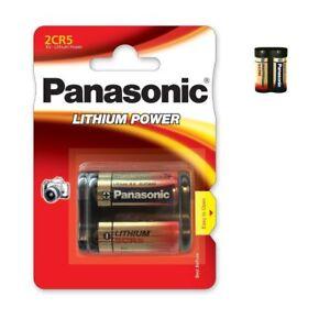 Piles spéciales photos 2CR5 6V lithium Panasonic, expédition rapide, gratuite