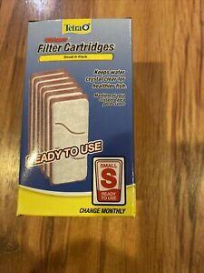 Tetra Whisper Replacement Carbon Aquarium Filter Cartridges, Small 6 ct Pack