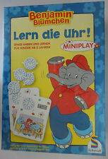 Benjamin Blümchen, Lern die Uhr! Schmidt Spiele NEU & OVP noch in Folie Rarität
