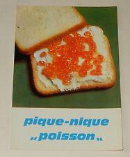 """Fiche Recette de CUISINE Pain JACQUET : Pique-Nique """"Poisson"""" - Vintage"""