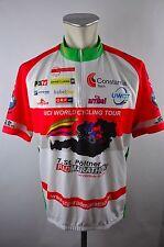 Pöltner Radmarathon cycling jersey maglia Rad Trikot XXL BW 59cm D-14