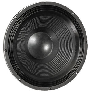 """Eminence Definimax 4018LF 18"""" SubWoofer 1200W 8ohm 94.9dB 4"""" Replacement Speaker"""