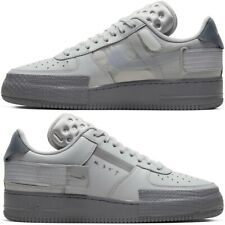 Nike Air Force 1 Type-2 Mens Trainers Size 9 - 13 Grey Fog Cool Grey CT2584-001