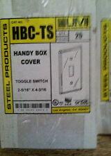 Orbit HBC-TS Handy Box Cover  Toggle Switch (Qty of 10)