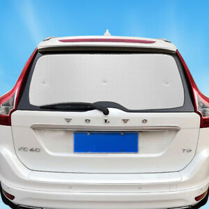 Fit For Volvo XC60 2010-2017 Rear Windshield Privacy Sun Shade