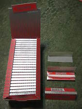 1 case MOON RED SLIM 1.0 Cigarette Rolling Papers 50 leaves/pack 70X36mm USA