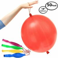 "DG Sports - 50-Pack of Jumbo Punching Ball Balloons for Parties - 18"" Inch"