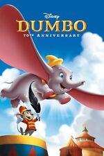 """Disney Dumbo 'A4 cartel impresión, publicado en 24 horas, libre de"""""