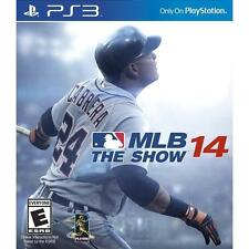 MLB 14: THE SHOW SONY PLAYSTATION 3 PS3 USED Original package **No Directions**