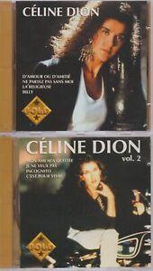 Celine Dion Collection Gold Vol 1 + 2 Cd Compilation 1982 - 1988