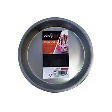 """8"""" redondo Pastel Pan Estaño profundo 1.5""""/bandeja para hornear/Molde Pastel De Cocina Horneado Pastel Flan"""