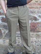 Uniformhose Diensthose  Bundfaltenhose Polizei Hose  beige sandfarben Sommer