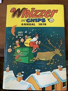 Whizzer and Chips Annual 1978 - A Fleetway Annual