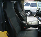 Jeep Wrangler 2003-2006 Blackcharcoal Iggee S.leather Custom Fit Seat Cover