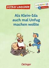 Als Klein-Ida auch mal Unfug machen wollte von Astrid Lindgren (2020, Gebundene Ausgabe)
