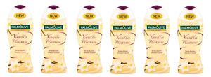 6x Palmolive Gourmet Vanilla Pleasure Body Butter Shower Gel Cream 250ml