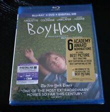 Boyhood Blu-ray/ Dvd Region 1 Brand New & Sealed