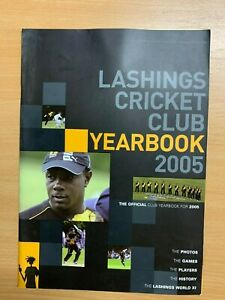 2005 LASHINGS CRICKET CLUB OFFICIAL YEARBOOK