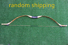 30LBS Traditional Handmade Longbow Recurve Bow For Horse Riding Archery Hunting