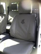 Black Duck Seat Covers Landruiser 79 Series Front Bucket Seats Brown LC792BN