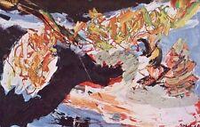 """KAREL APPEL mounted vintage print, Stedelijk 1965, COBRA art brut 10 x 8"""" KS4"""