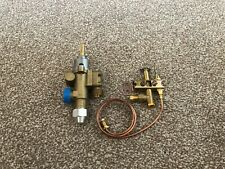 More details for 22s gas valve horizontal gas outlet with pilot and sensor (chinese wok cooker)